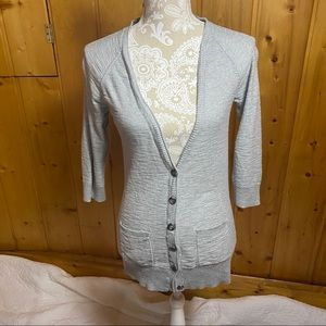 Mossimo Supply Co. Sweaters - Mossimo gray cardigan with pockets, size Small